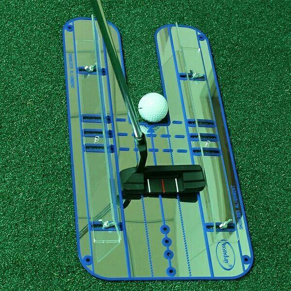 Купить с кэшбэком Golf Mirror Training Putting Alignment Eyeline New Aid Practice Trainer Portable