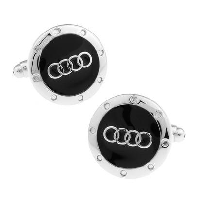 HYX Luxury shirt Car logo cufflink for mens Brand cuff buttons cuff links High Quality abotoaduras Jewelry