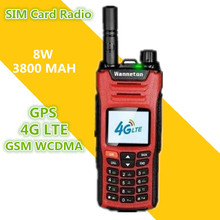 2019 New BAOFENG SIM Card Del Telefono Walkie Talkie 8 W 50 KM GPS GSM WCDMA 4G LTE CB Ham stazione Radio HF Ricetrasmettitore Woki Toki