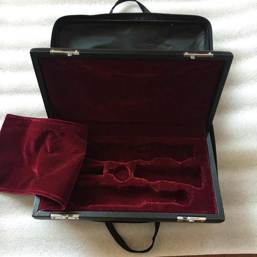 Quality Professional Portable Durable Oboe Case Soft Bag Hard Box Hand MADE Nice Work Waterproof Leather Instrument Case Package