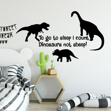 Lovely dinosaur Wall Sticker Home Decor Decoration Kids Room Nature Decal adesivi murali