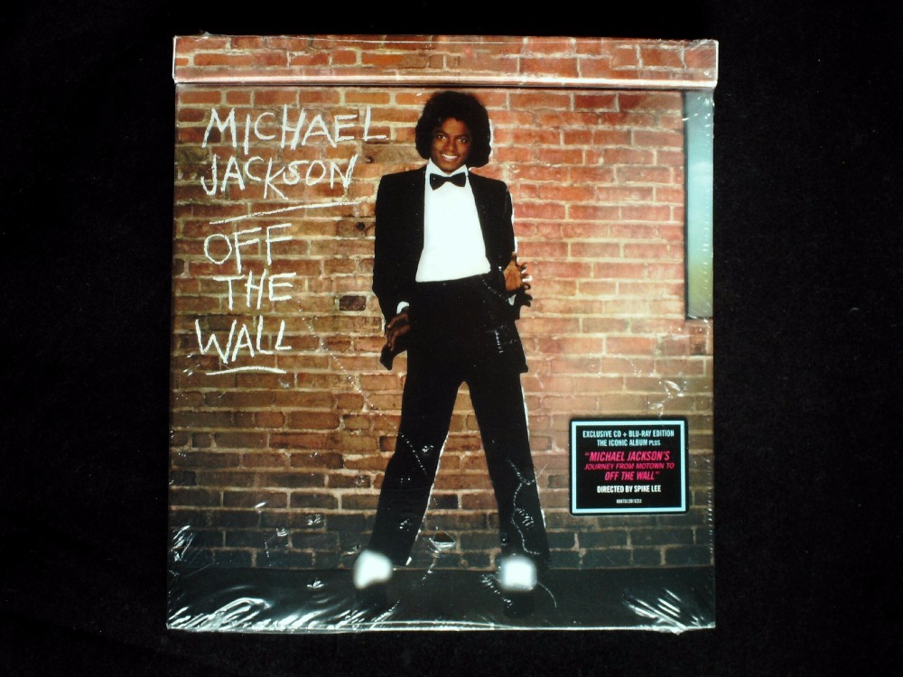 Michael Jackson - Off The <font><b>Wall</b></font> Exclusive USA Original CD+<font><b>Blu-ray</b></font> Sealed (with a CHALK) Region 0
