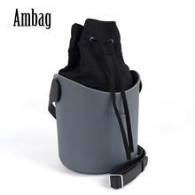 새로운 Obag 스타일 Ambag EVA Obag O 바구니 스타일 핸들 스트랩 삽입 여성 숄더 가방 메신저 가방