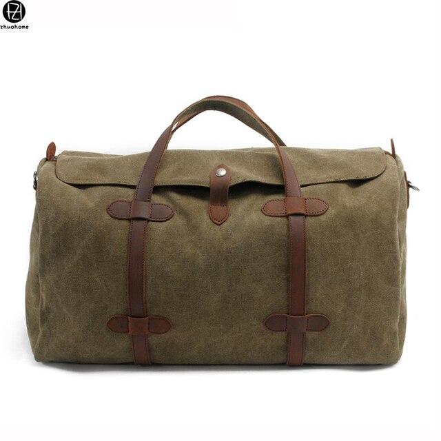 Homens lona de alta qualidade viajar saco da bagagem de grande capacidade bolsas tote crossbody mens sólidos sacos designer saco de ombro para o sexo masculino