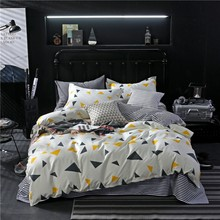 1pc Reactive Printing Bedding Set Duvet Cover Bedding quilt cover(China)