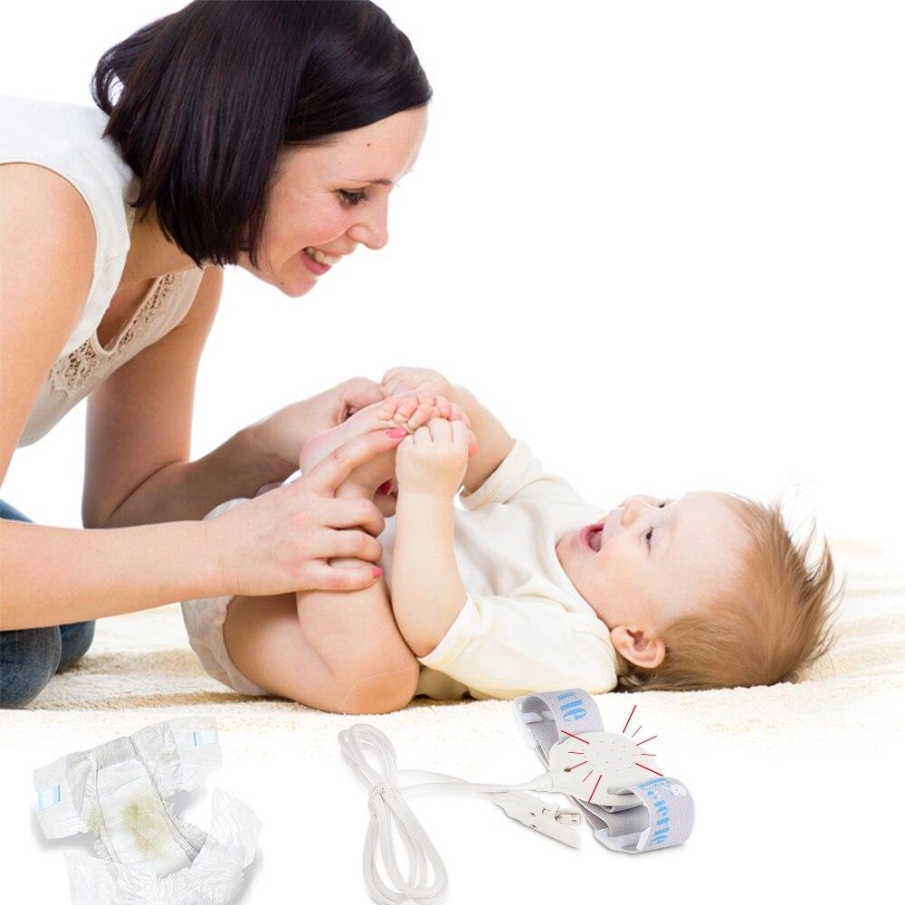 Professional Bedwetting Sensor Alarm Wet Reminder Convenient Infrared Sensor 3 Alarm Modes Baby Potty Training Infant Baby Care