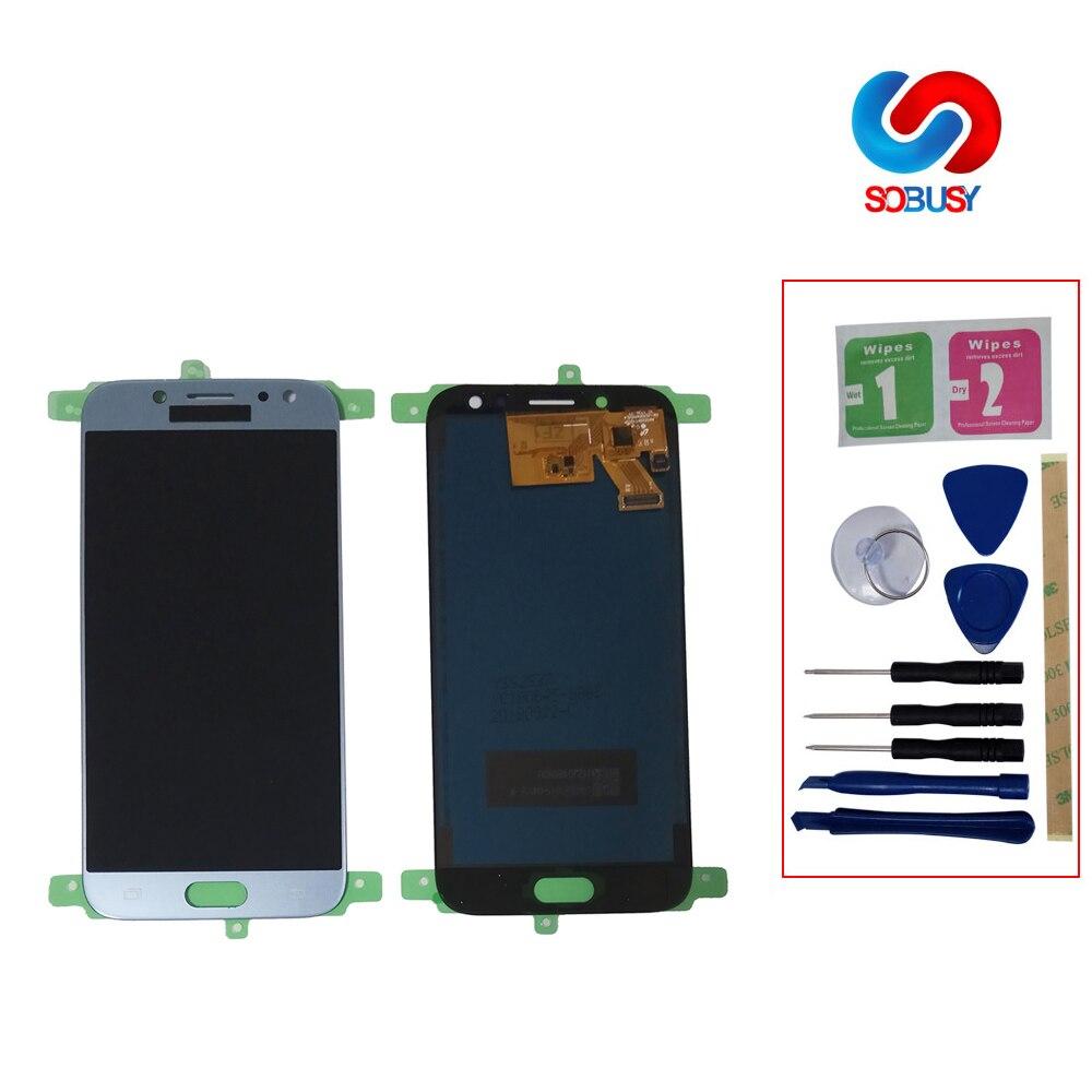 530 lcd j530f lcd Pour SAMSUNG Galaxy J5 Pro 2017 J530 SM-J530F LCD Affichage Écran Tactile Panneau Pantalla Assemblée Digitizer