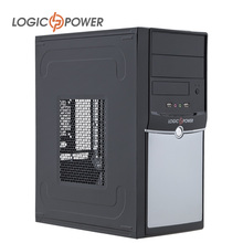 LOGIC POWER desktop Office and home font b computer b font case New Arrivals 80mm FAN
