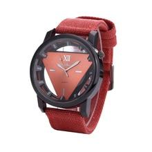 Trendy Triangular Unisex Skeleton Watch