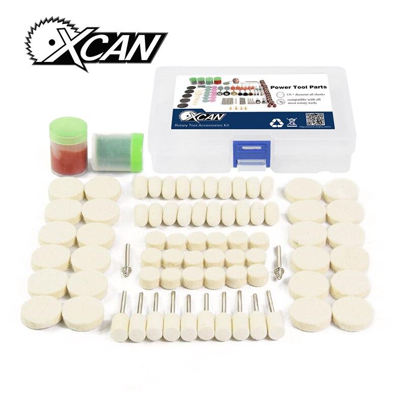 XCAN 76pcs/set Fit Dremel Polishing kit Abrasive Tool for wood /matel workingXCAN 76pcs/set Fit Dremel Polishing kit Abrasive Tool for wood /matel working