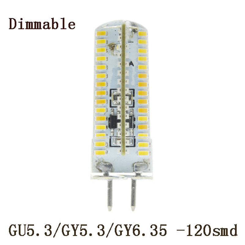 5x Bombillas led GU5.3 AC 220V 240V 7W 10W 12W SMD 3014 LED Spotlight for home Lampada bulbs