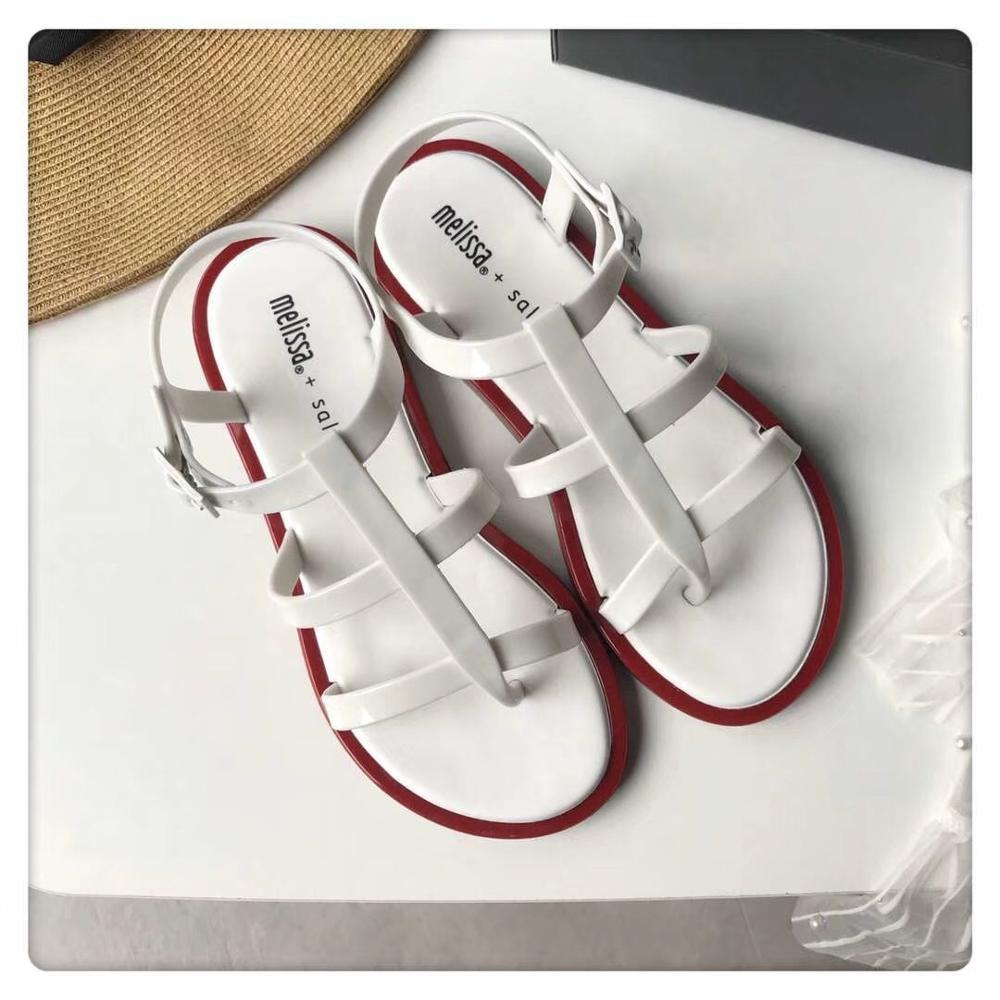 2019 nouveau Melissa femmes sandales brésiliennes femmes gelée chaussures d'été décontracté chaussures de gelée décontractée Romam femmes Melissa sandales
