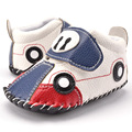 Newborn Baby First Walkers Cartoon Baby Boy Shoes PU Leather Infant Shoes Soft Sole Anti-slip Toddler Shoes