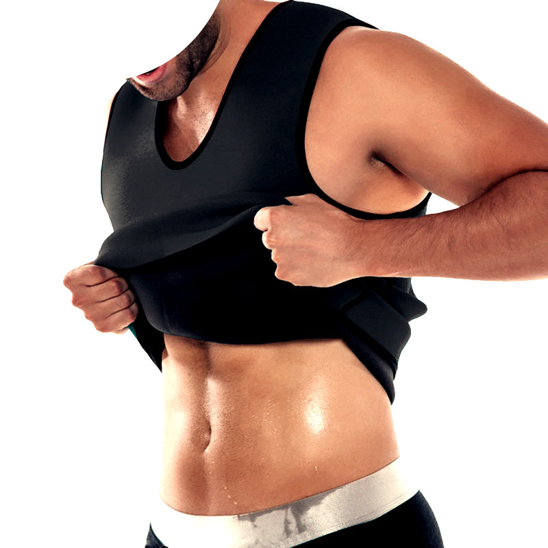 Neoprene Men Body Shaper Sauna Sweat Ultra Slimming Belt Belly Abdomen Fat Burn Shapewear Faja Reductora Hombre Plus Size 5XL