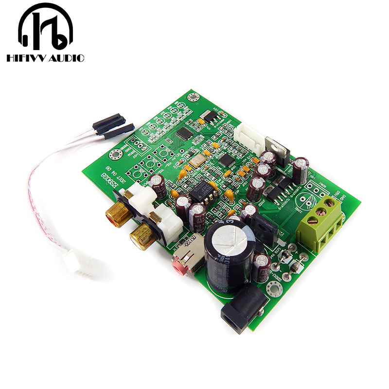 ES9028Q2M DAC Board For Hifi Amplifier Decoder I2S Input Supports I2S 32bit 384K DSD64 128 256 512