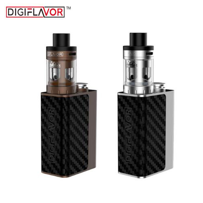 Original Digiflavor WildFire Kit with 60W DF60 TC Box Mod 1700mah Battery and 3ml WildFire Atomizer sigaretta elettronica vape kvp lover 120w tc box mod kit