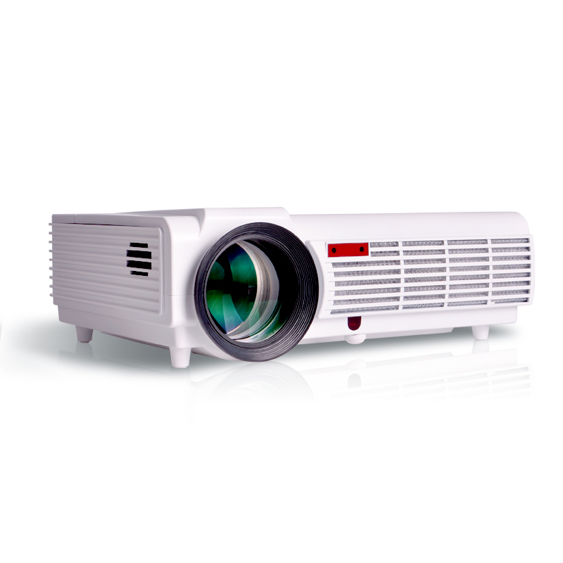 Smart 5500lumens android wifi home theater 1080p bluetooth for Hd projector reviews