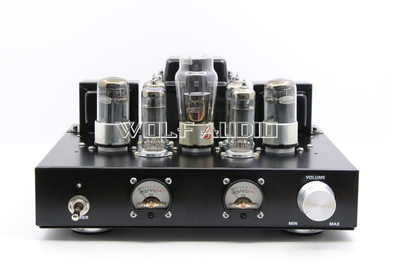 6P1+6H8C+5Z4P Pure Tube Rectifier Amplifier 6H8C Push 6P1 Class A Single-ended Parallel Tube Amplifier With VU Meter Head 5 пред page 1 page 5 page 4