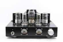 6P1 + 6H8C + 5Z4P Tubo Puro Amplificador Rectificador 6H8C Empuje 6P1 Clase de Una Sola terminal Amplificador de Tubo Paralelo con VU Meter La Cabeza
