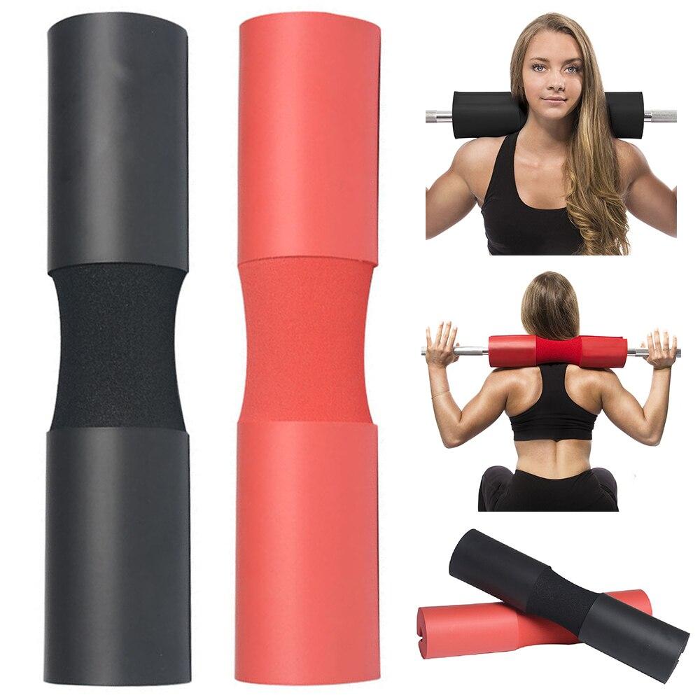 2019 a Construção Do Corpo Barbell Barra Pescoço Ombro para Trás Proteger Pad Gel Lifting Pull Aperto Esponja Pesos Ginásio Crossfit Fitness Engrenagem