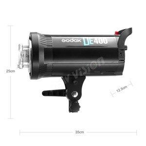 Image 3 - Godox DE400 Studio di Luce del Flash 400 W GN65 Compatto Strobe Illuminazione Fotografia Lampada Testa 400Ws