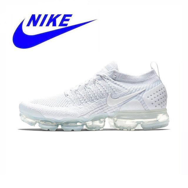 Original Official New Arrival NIKE AIR VAPORMAX FLYKNIT 2 Mens Running Shoes Sneakers Outdoor Sport Shoes size 7-11