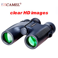 Compact Binoculars Waterproof Optics High Times Telescope Roof Portable USCAMEL 10X26 Dual Focus Mini Size Outdoor