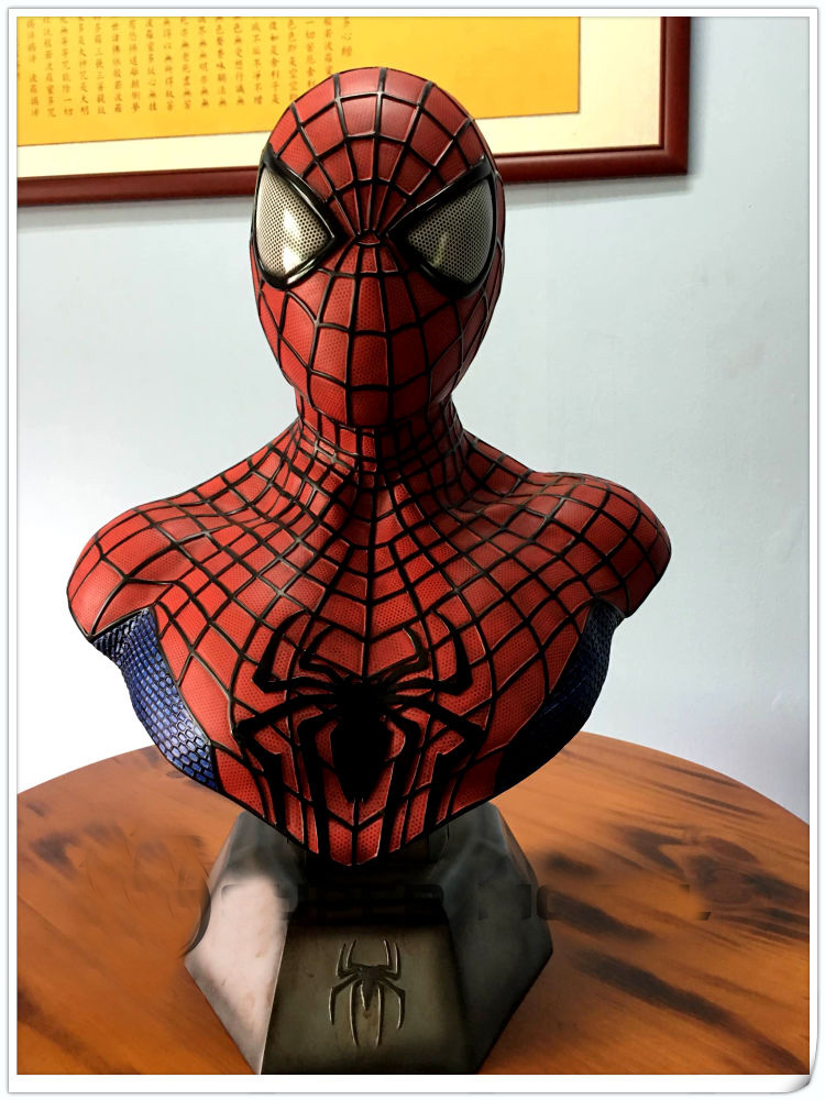 New 1/1 Scale Captain America 3 III Civil War Spider-Man Bust Statue (LIFE SIZE) victorian america and the civil war
