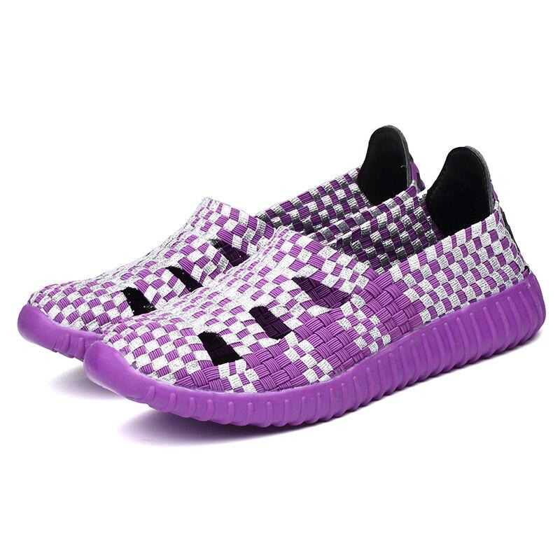 2016 Summer women flat sandals Shoes font b women s b font Woven shoes Flat Shoes