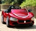 Frete Grátis O novo Maserati carro crianças carro de brinquedo de controle remoto carro elétrico quatro carrinho de bebê pode sentar grátis