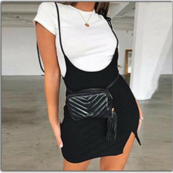 2019 Fashion Womens Ladies Mini vestito aderente Bodycon Dress Bandage Bodycon Sleeveless Evening Party Club Short Mini Dress 1