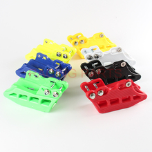 цена на NEW  CHAIN GUIDE BLOCK Rear Plastic chain guard FIT 2010-16 RMZ250 RMZ450 motorcycle motorcross spare parts Free Shipping
