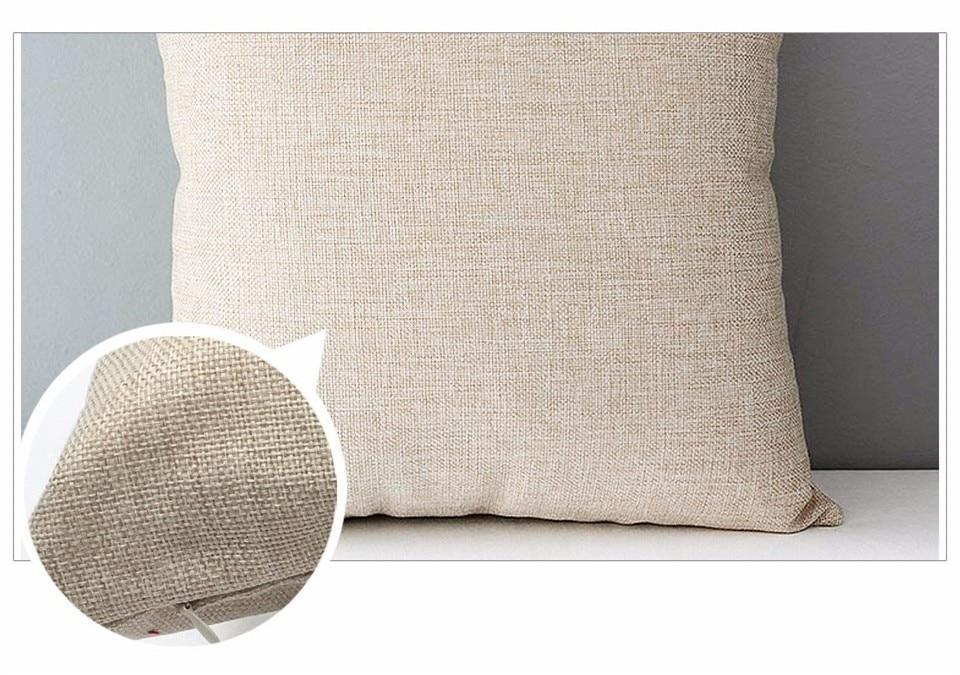 HTB1jeabXoLrK1Rjy0Fjq6zYXFXaj Selected Couch cushion Cartoon cat printed quality cotton linen home decorative pillows kids bedroom Decor pillowcase wholesale