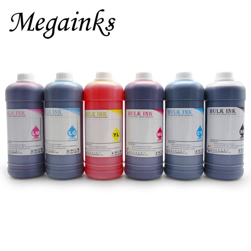 1000 ML Colorant Pigment & Encre De Sublimation pour Epson P50 T50 L100 L110 L120 L210 L220 L355 L310 L800 L805 L1800 1390 1400 1410 Imprimante