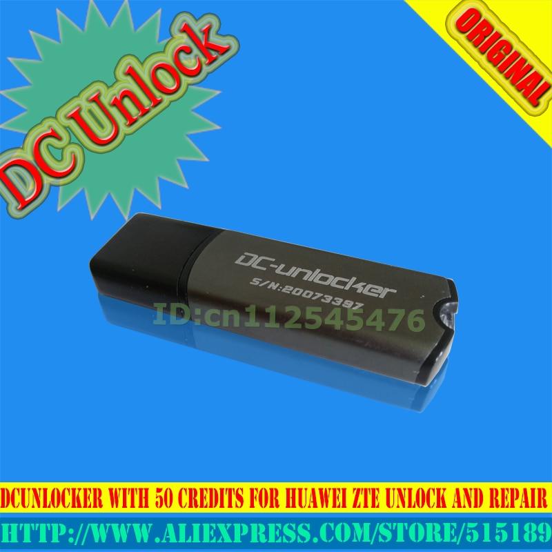 DC Unlocker Standard Dongle Unikey With 50 Credits/Logs For Huawei ZTE
