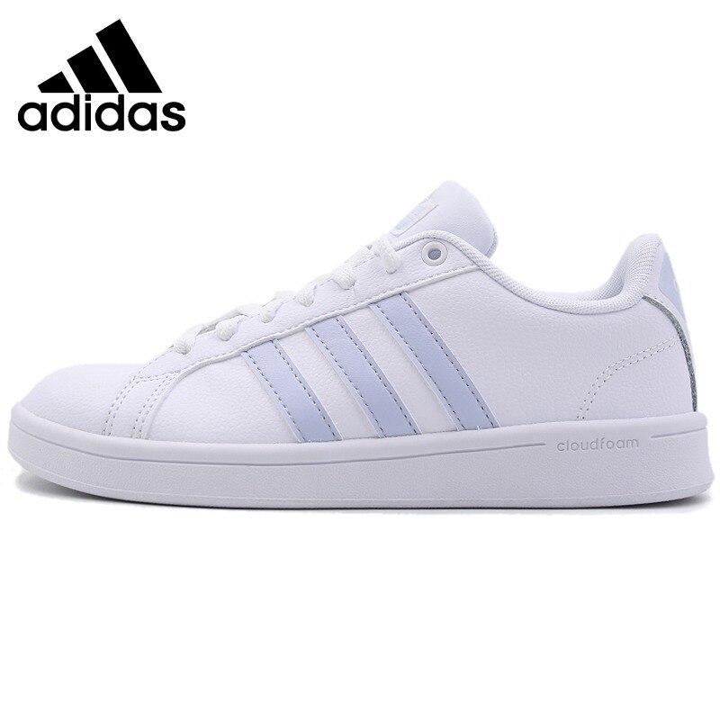 Original Nouvelle Arrivée 2018 Adidas NEO AVANTAGE Étiquette Femmes de Planche À Roulettes Chaussures Sneakers Sports de Plein Air Résistant à L'usure B28095