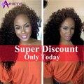 Cabelos Cacheados Crespo brasileiro Virgem Feixes de Cabelo 3 Bundles Tecer Cabelo Brasileiro Feixes Tecer Cabelo Humano Afro Kinky Curly Hair Extension
