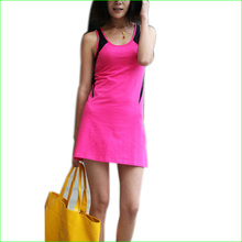 2016 New Girl s Tennis Sports Dresses Women s font b Cheerleader b font One piece