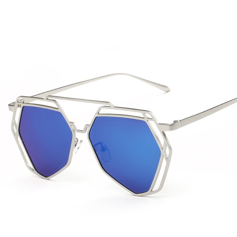 Polarisées lunettes de soleil de personnalité de mode Coloré polygonal,  hommes et femmes marée 8015 lunettes, lunettes de prescription 1be2a5942e1d
