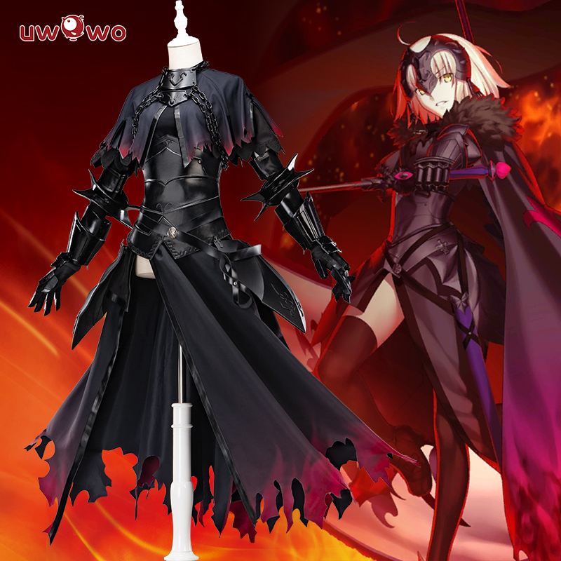 UWOWO Cosplay Women Game Fate/Grand Order Jeanne D'Arc Alter (J'Alter) Cosplay Women Girls Costume Halloween Suit