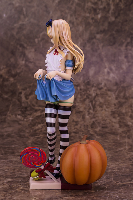 25cm ALPHAMAX Skytubes Alice girl illustration BY Misaki Kurchito PVC Pre-Painted Action Figure Model Adults Collection Toy 1
