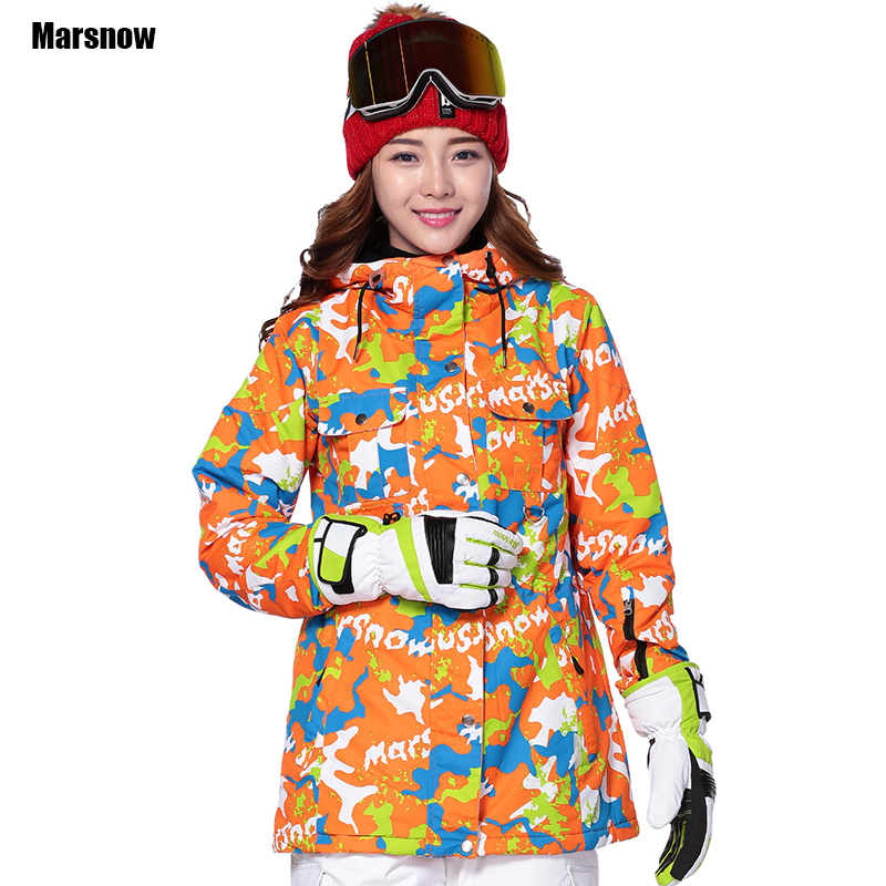 Marsnow Winter Outdoor jacket -30 Thicken skiing jacket Dropshipping waterproof windproof sportswear snowboard jacket womenMarsnow Winter Outdoor jacket -30 Thicken skiing jacket Dropshipping waterproof windproof sportswear snowboard jacket women