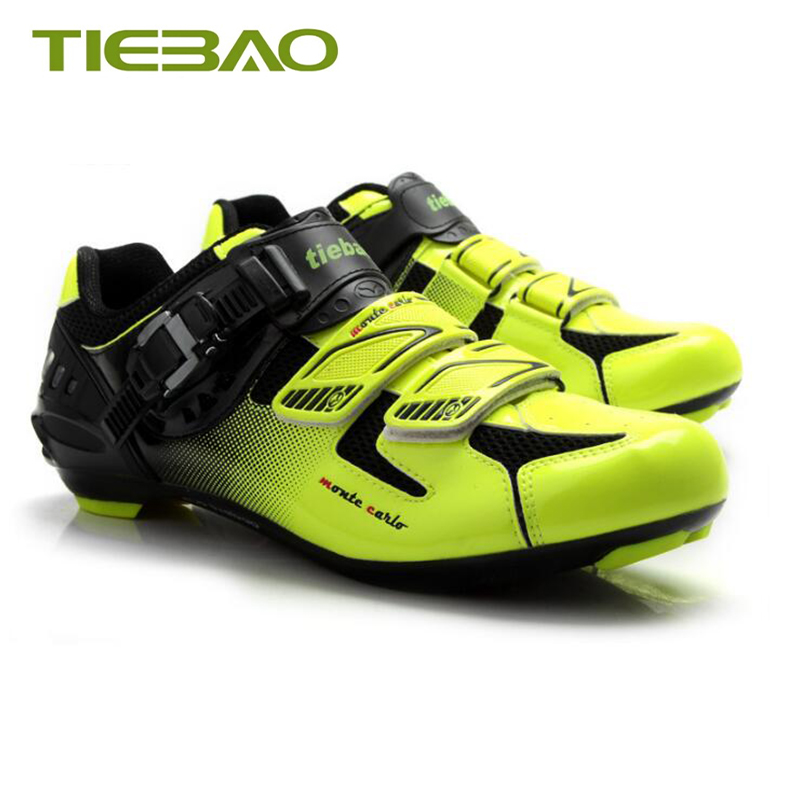 Купить с кэшбэком Tiebao cycling shoes road sapatilha ciclismo superstar bike sneakers zapatillas ciclismo carretera hombre bicycle road shoes