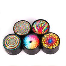 New Type Grinder 50mm Beautiful  Spice Herb Tobacco Smoke Smoking Pipe Accessories