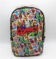 Super hero Backpack Marvel Comics computer school Book Bag