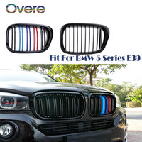 Overe Car Front Racing Grills For BMW E39 5 Series 1995 1996 1997 1998 1999 2000 2001 2002 2003 2004 525i 528i 530i Accessories