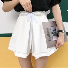 Весной и летом женщин Корейской версии диких линия широкую ногу студентов свободные тонкие шорты