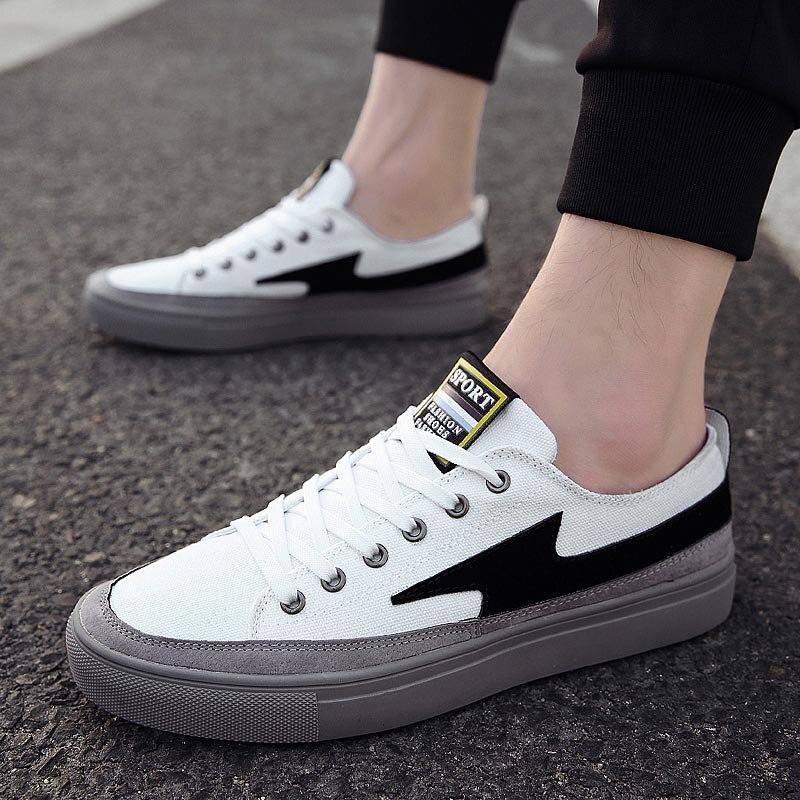Man Casual Shoes Designer Fashion Sneakers Canvas Shoes Men 2018 Vulcanized Shoes Male Espadrilles Shoes Solid Chaussure Homme