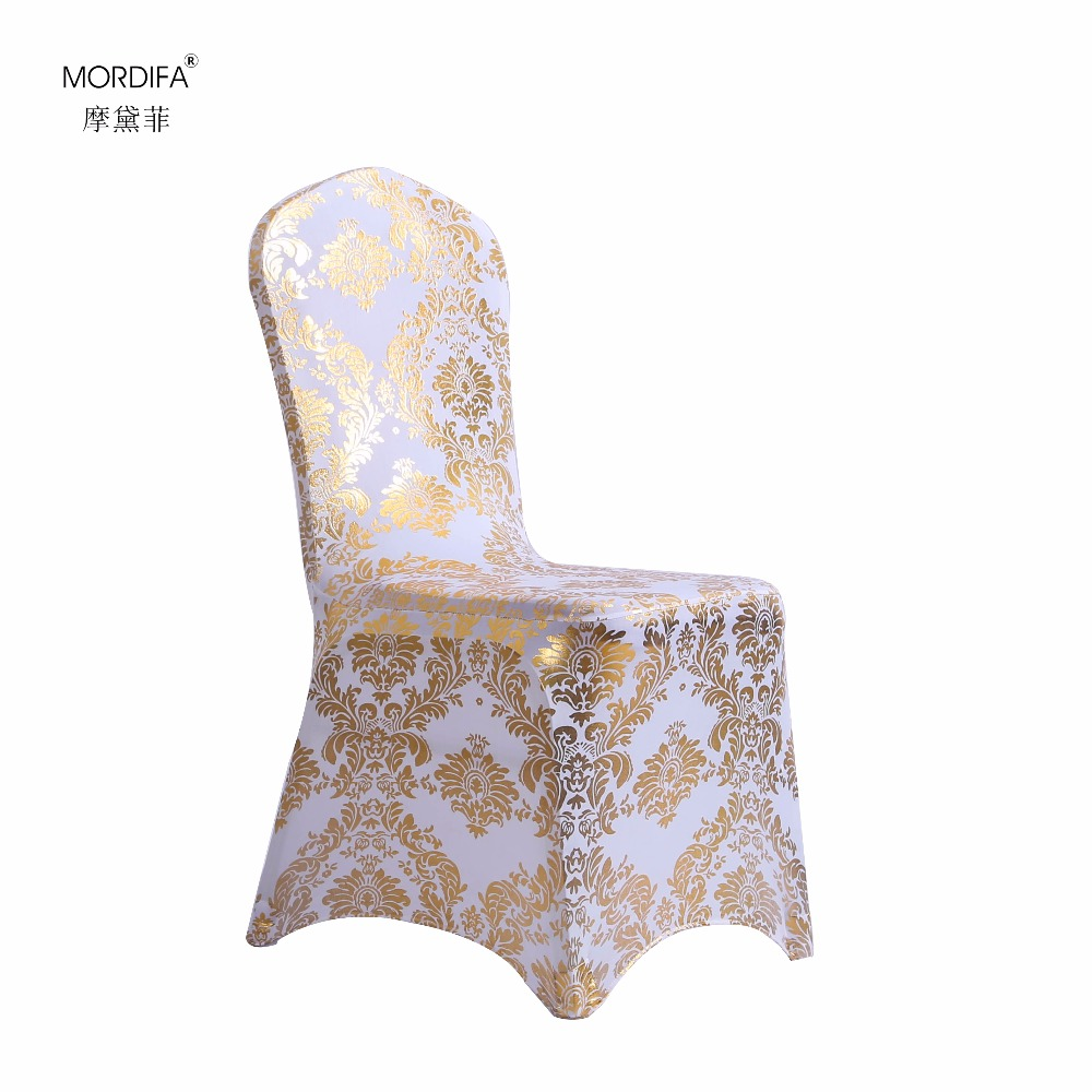 Flower Chair Covers Dining Room Fabric Polyester Spandex