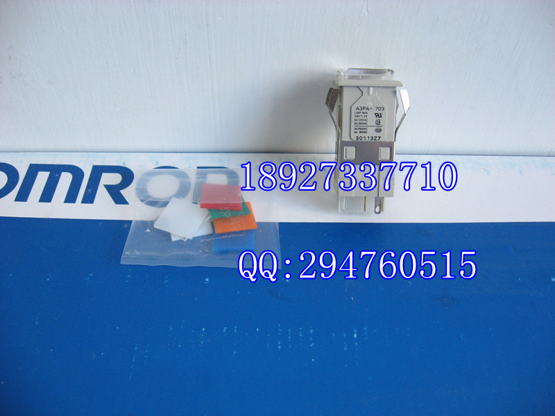 [ZOB] New original authentic OMRON Omron button switches A3PA-90C12-28 --2PCS/LOT [zob] berker brocade 75162773 double button panel eib knx lighting original authentic 2pcs lot